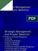 02 Strategy and Proj selection
