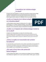 Cuáles son los beneficios de la biotecnología tradicional en la salud (1)