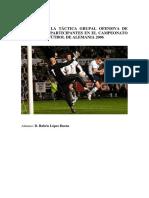 análisis de los goles del mundial de fútbol de Alemania