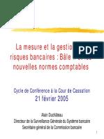 la mesure et la gestion des risques bancaires bale 2 et normes comptables.pdf