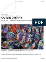Caitlin Cherry on digital abstraction and Black femininity - Artforum International