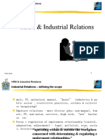 HRM & Industrial Relations