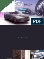 Ficha Técnica Ford Fusión Híbrido 2020