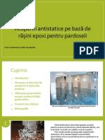 Acoperiri antistatice pe bază de rășini epoxi pentru pardoseli_Buzatu Cristina