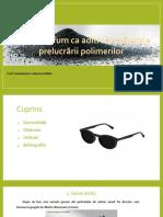 Negrul de fum ca aditiv in industria prelucrarii polimerilor_ARITON, BUZATU