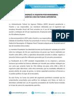 AFIP - DENUNCIA VICENTIN