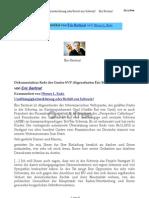 Unabhängigkeitserklärung oder Beitritt zur Schweiz
