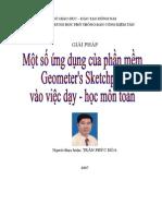 hướng dẫn sử dụng Geometer's Sketchpad