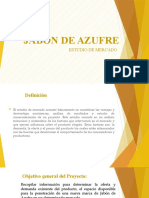 preparacion y evaluacion de proyecto JABON DE ZUFRE