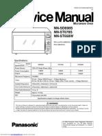 Panasonic Service Manual nnst678s