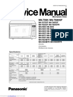 nnt695  Panasonic Service Manual