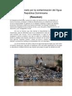 Impacto generado por la contaminación del Agua República Dominicana.docx
