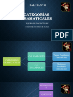 Categorias Gramaticales - Sustantivos (1)