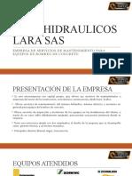 SERVIHIDRAULICOS LARA SAS