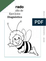 3er Grado - Cuadernillo de Ejercicios (Diagnóstico)