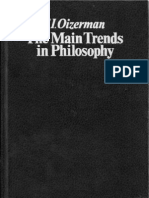 Teodor Oizerman - The Main Trends in Philosophy