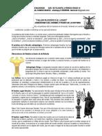 GUIA Nº 3 filo 10. DIMENSIONES DEL HOMBRE A TRAVES DE LA HISTORIA (1)