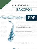 Iniciacion al saxofon