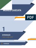 MODELO CASCATA