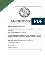 0403 - HISTORIA SOCIAL DE LA CIENCIA Y LA TÉCNICA - LEVINAS