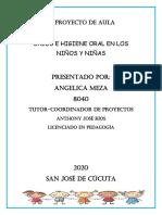 Proyecto de aula SALUD E HIGIENE BUCAL CASI