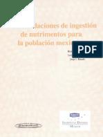 Recomendacion Nutrimental Tomo 1