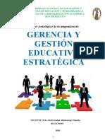 MANUAL GERENCIA Y GESTION EDUCATIVA ESTRATEGICA- BACHILLERATO