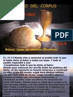 Lecturas Domingo de Corpus Christi