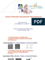 Carbon Nanotube NanoNeedle Nanomeniscus