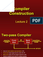 Compiler Construction - Lecture 02