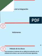APLICACIONES DE LA INTEGRAL CÁLCULO DE ÁREA Y VOLUMEN.