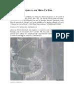 Aeropuerto José María Córdova- 5 primeros puntos