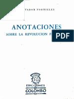 Salvador Fornielles - Anotaciones sobre la revolución francesa Cap 1