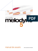 Melodyne 5 studio Reference Manual, Stand-alone, Spanish