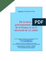 Constant, Benjamin - De la Force du Gouvernement Actuel.pdf