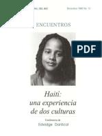 E Danticat- Una experiencia de dos culturas