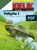 Modelik 1998.14 PzKpfw I Ausf.B Panzer I