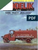 Modelik 2000.08 Tank Truck Bulldog 1