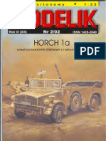Modelik 2002.02 Horch 1a Africa Corps