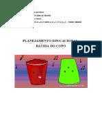 PLANO DE TRABALHO BATIDA DOS COPOS