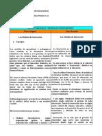 Texto paralelo sobre los modelos innovadores - Viviana Moreno 4-742-468