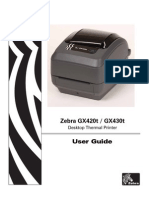 Printer Zebra User Guide