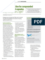 AJP Aug 17 - Practice update Excipient selection for compounded pharmaceutical capsules