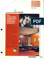 Sylvania Incandescent Supersaver Lamp Brochure