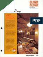 Sylvania Incandescent Supersaver XL Lamp Brochure