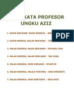 80649783 Kata Kata Profesor Ungku Aziz