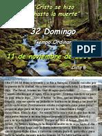 Lecturas Misa Domingo 11 de Noviembre