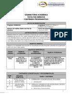 Syllabus DERECHO PENAL 3 CONDUCTAS PUNIBLES I