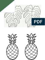 desenho tropical