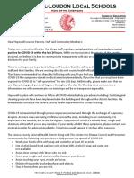 Hopewell Loudon Letter